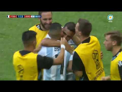 argentina vs francia gol mercado