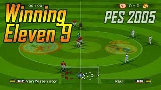Winning Eleven 9 | Manchester United vs Real Madrid | Pro Evolution Soccer 2005