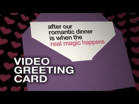 After dinner is when the real magic happens - Movie Greeting E-Card - Funny Love