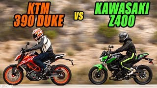 Lightweight Rippers: 2019 KTM 390 Duke vs. 2019 Kawasaki Z400