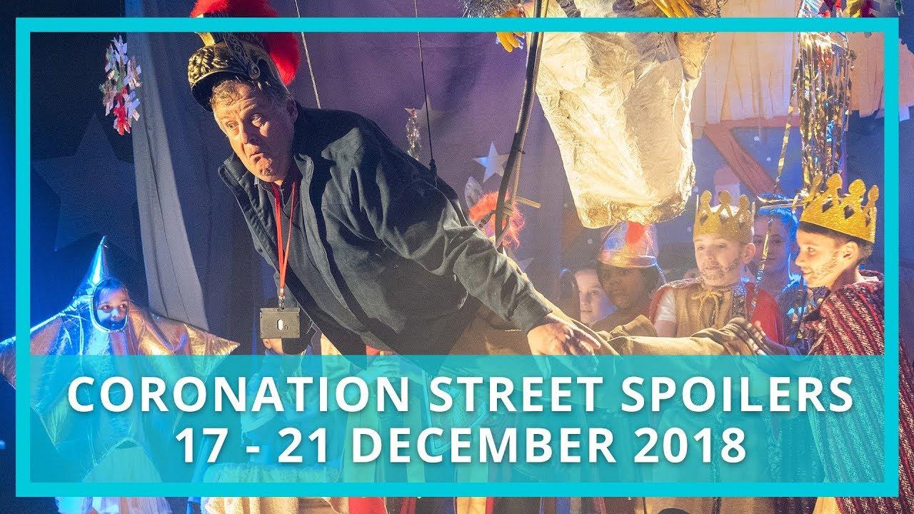 Coronation Street spoilers | 17th - 21st December 2018