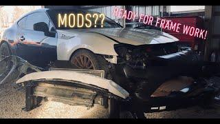 Rebuilding a Wrecked 2013 Subaru BRZ