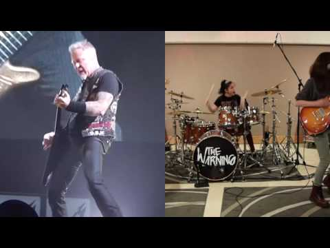 ATLAS, RISE! - The Warning/Metallica REAL Face-Off