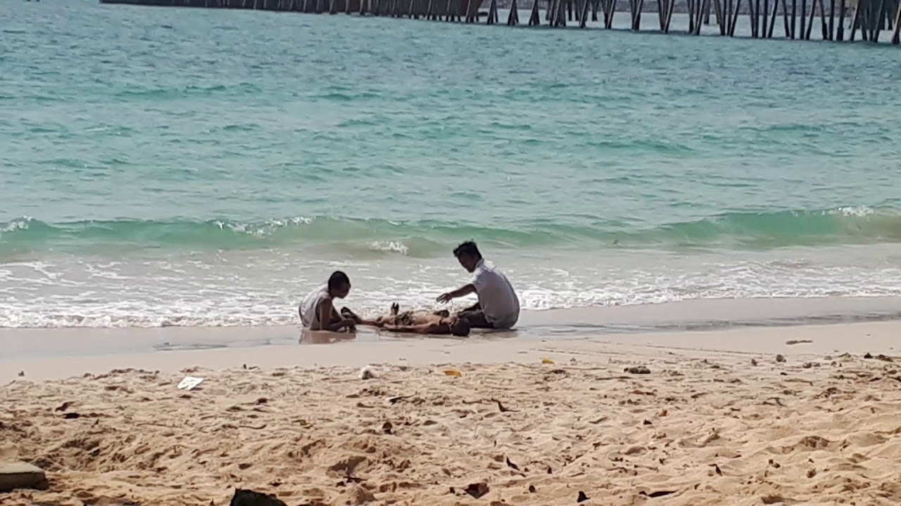 Тайская девушка пляж