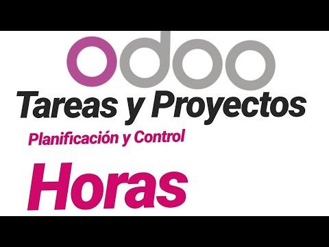 💻 ERP ODOO. Planificación, Registro Y Control De HORAS Trabajadas Por TAREAS En PROYECTOS
