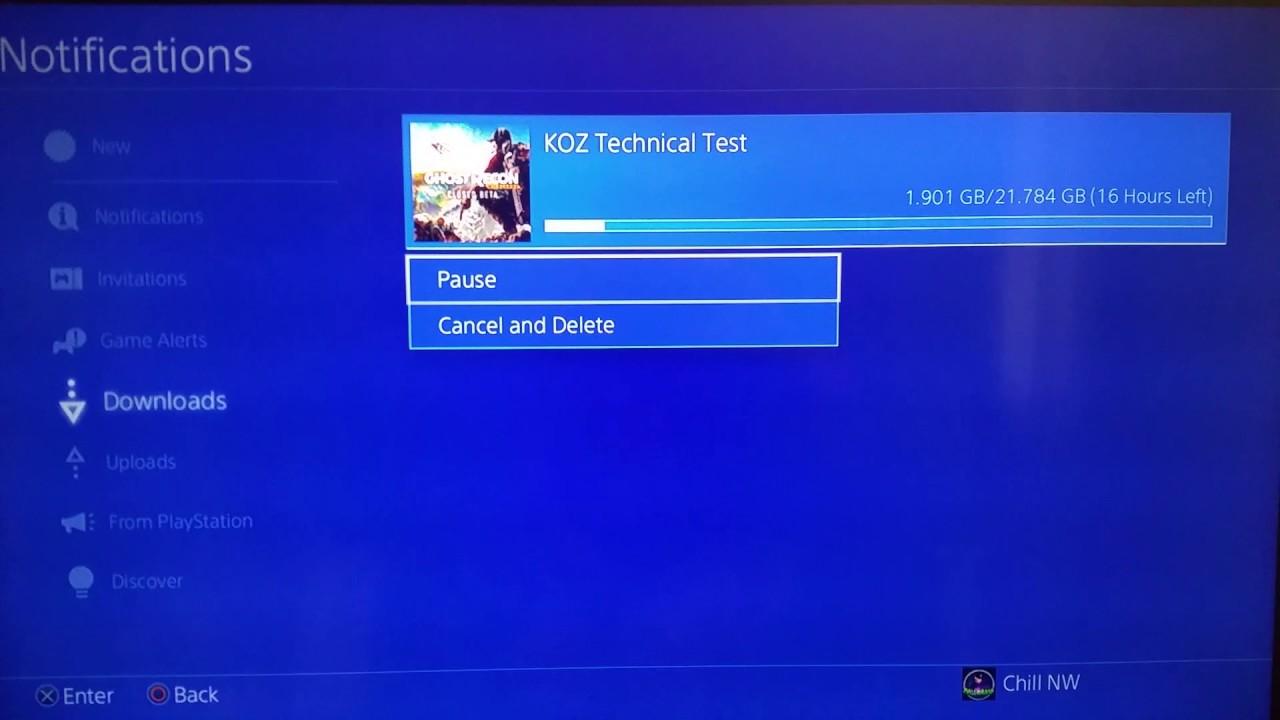 PSN slow download fix