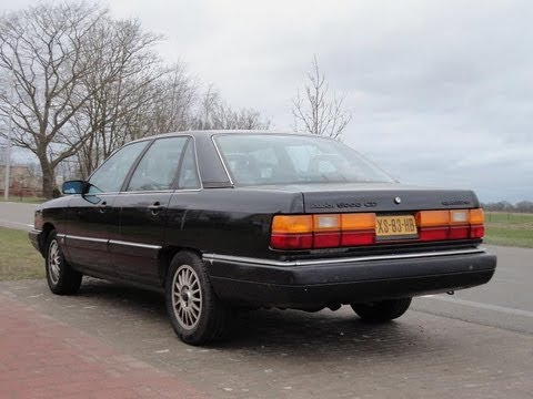Audi 5000 exhaust sounds - YouTube