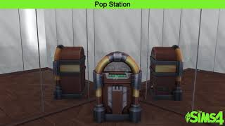 The Sims 4 Music || Pop Station || Rizzo - Chombay Yub
