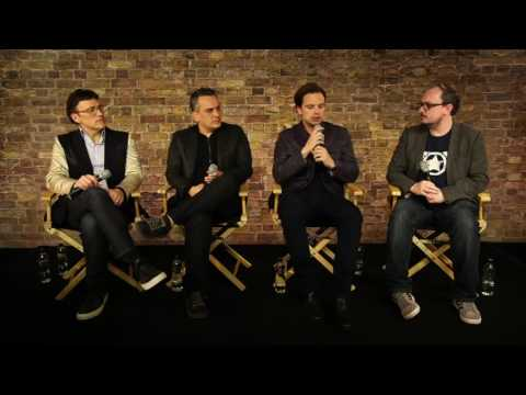 Captain America: Civil War Interview with Sebastian Stan, Anthony and Joe Russo