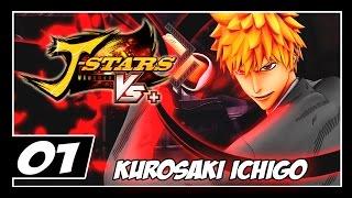 J-STARS VICTORY VS+ - Parte 1 - KUROSAKI ICHIGO - Novo Torneio - [PT-BR]