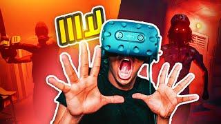 لا تلعب أبداً لعبة رعب بنظارات الواقع الإفتراضي💔|Hospitality VR