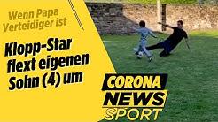 Lovren flext eigenen Sohn (4) um & CR7-Sohn lernt Papas Siiiiuuuuu-Torjubel | Corona News Sport