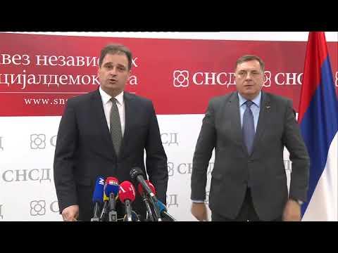 Govedarica nakon sastanka sa SNSD-om: SDS će uvijek braniti poziciju Srpske