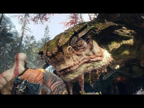 God of War 4 2018 The Witch No Damage Walkthrough Part 8 PS4 PRO