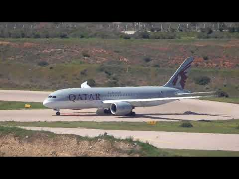 Athens International Airport  midday plane spotting part2