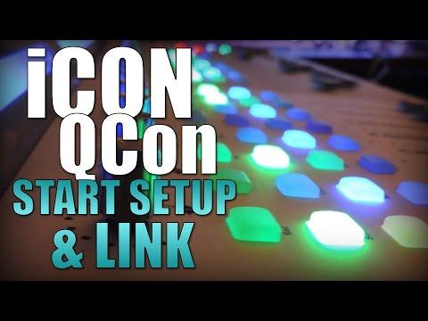 iCon QCon Pro / QCon Ex start setup & link
