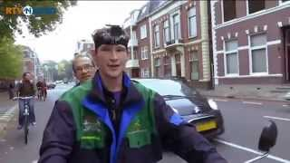 Dutch cyclists talk helmets and bicycles