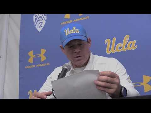 Jim Mora Post Game Presser - UCLA vs. USC - 11/18/17