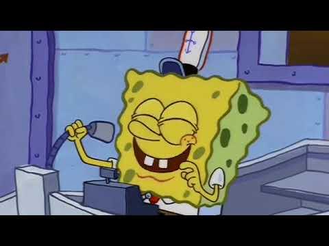 Spongebob Working At Good Burger