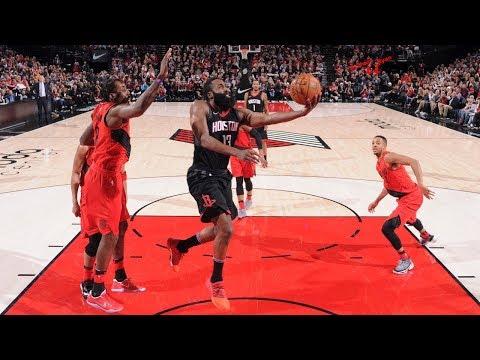 Portland Blazers vs Houston Rockets