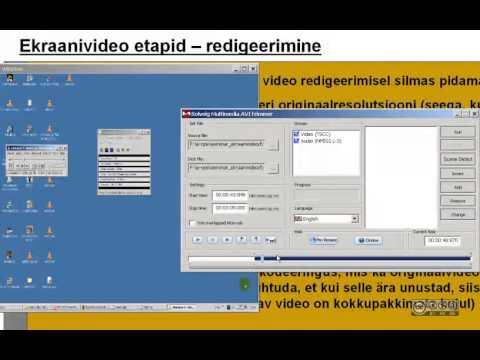 Esimesed 5min tarkvaraga 'SolveigMM AVI Trimmer'