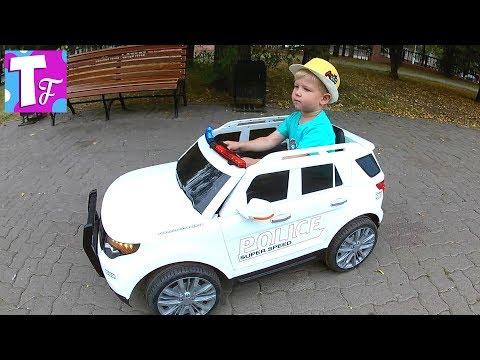 детский электромобиль джип ребенок за рулем автомобиля развлечения для детей