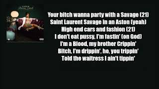 Cardi B – Bartier Cardi Ft. 21 Savage (Official Lyrics) - Stafaband