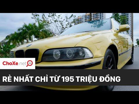 Xe ô tô BMW 525i cũ chỉ còn 199 triệu???