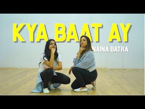 KYA BAAT AY DANCE   Naina Batra Choreo   Harrdy Sandhu