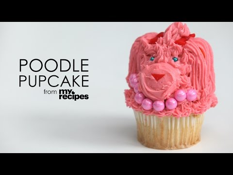 How to Make Poodle Pupcakes | MyRecipes