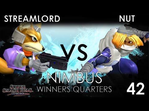 Nimbus #42 - 20XX | Streamlord (Fox) VS Nut (Sheik) - SSBM Winners Quarters