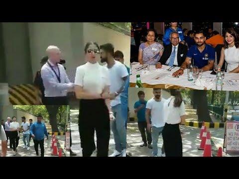 #Viral. Kohli and Anushka Spotted At British High Commission, New Delhi!