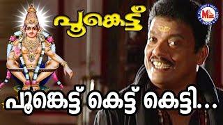 പൂങ്കെട്ട് കെട്ടുകെട്ടി | Poonkettu Kettu Kettu | MG Sreekumar | Ayyappa Devotional Songs Malayalam