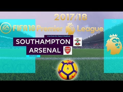 FIFA 18 Southampton vs Arsenal | Premier League 2017/18 | PS4 Full Match