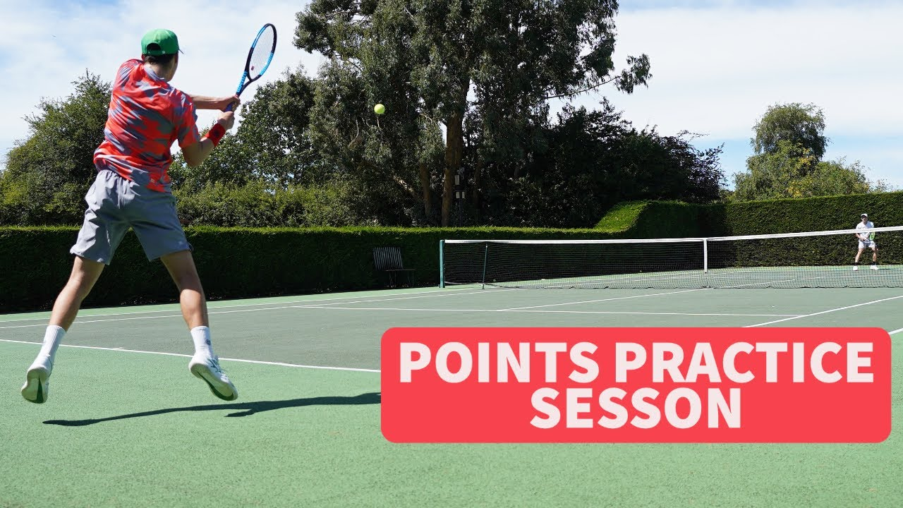My Points Practice Session |  British Men's Tennis