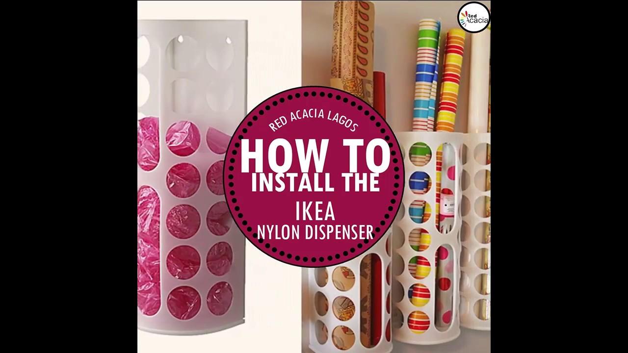 Ikea Nylon Dispenser Variera