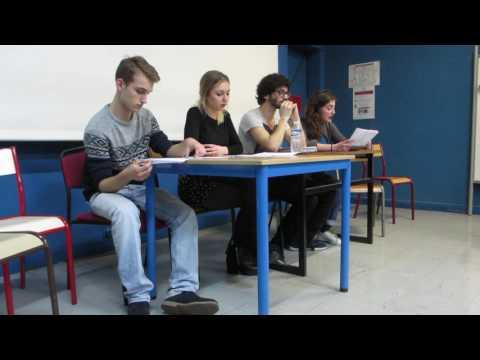 Lecture de scénario / Ivresse / Paris 3 - Sorbonne Nouvelle / 2 février 2016