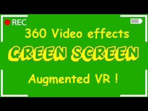 Tutorial #7 How To Add Green Screen Effects Into 360 Videos For VR Viewing