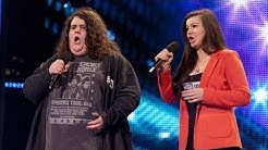 Opera duo Charlotte & Jonathan - Britain's Got Talent 2012 audition - UK version