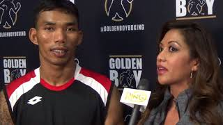 UNDEFEATED THAI BOXER TEWA KIRAM PLANS ON A KO AGAINST MATTHYSSE!!!