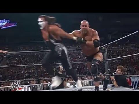 Goldberg and Sting's epic contest from Slamboree: Slamboree 1999