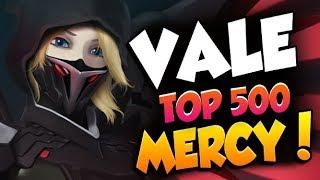 VALE GRANDMASTER MERCY GAMEPLAY! [ OVERWATCH SEASON 19 TOP 500 ]