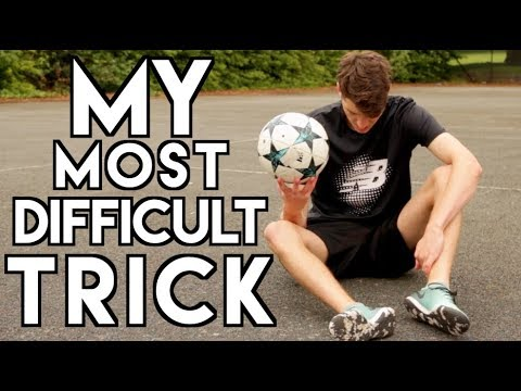 The HARDEST Thing I Can do with a FOOTBALL