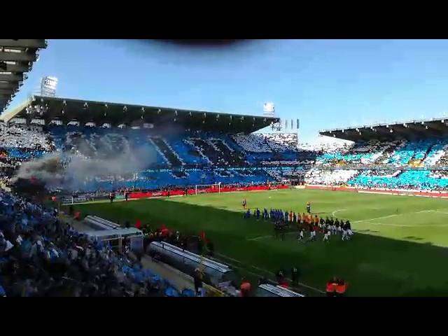 Tifo Club Brugge-Anderlecht 14/05/2017
