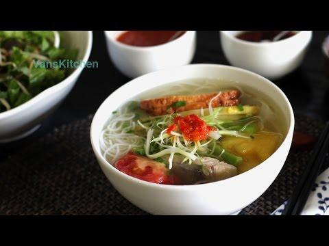 Vietnamese fish noodle soup (Bún cá Nha Trang)