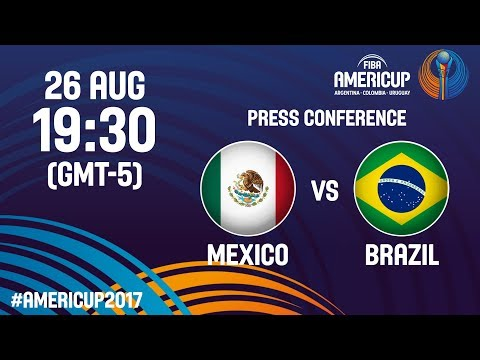 Mexico v Brazil - Press Conference