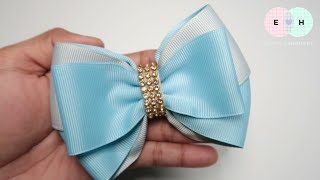 Simple Bow With DIY Bow Maker 🎀 Tutorial by Elysia Handmade