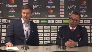 SaiPa–HIFK -lehdistötilaisuus 5.1.2019