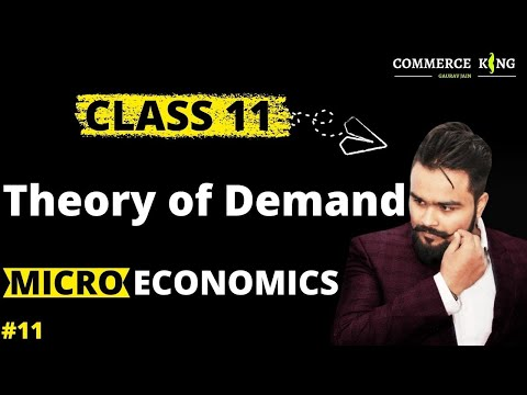#11, Theory of demand | law of demand | Micro economics | Class 11 | Class 12
