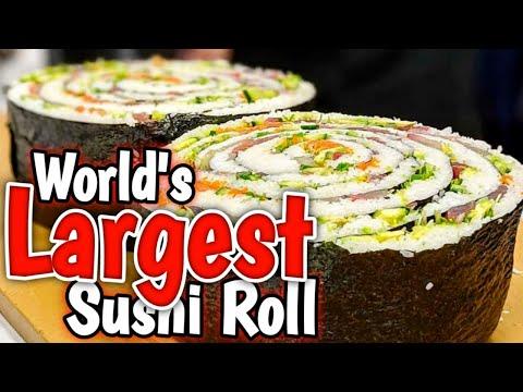 Japanese Food Festival - MEGA ROLL - 3/3/18